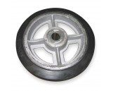 Replacement Molded Rubber Wheel for WESCO Drum Truck, 10 x 2.5""