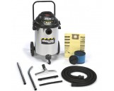 6.5 Peak HP Stainless Steel Wet Dry Vacuum, 15-Gallon