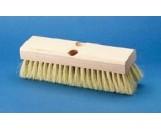 "Deck Brush White Tampico 10"", 12/cs"