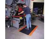 Cushion Trax Mat, 4' x 6', Black-Orange