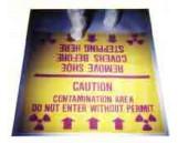 "Poly High-Tack Nuclear Walk-off mat, 37""x37"""