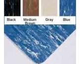 "No. 494 Mat, 4'x60"", Blue/White"