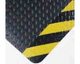 No. 495 Mat, 2'x3', Black/Yellow