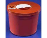 5 qt., Disposal Device w/ Red Rotor Lid