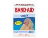 "Sheer Bandages, 3/4"" x 3"""