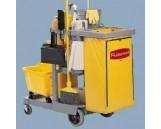 Janitor Cart 2000, Blue, 1/Ctn