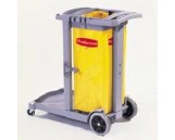 Flexi 2000 Cleaning Cart, Gray, 1/Ctn