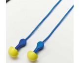 Express Pod Plugs, corded, blue, NRR: 25 dB