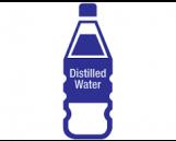 Distilled Water, 1 gallon, 6 bottles per case