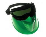 Monogoggle XTR w/the shield, Green, Black, Lens: IR 5.0