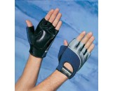 Terry Back Anti-Vibration Gloves, L, Blue
