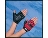Deluxe Anti-Vibration Gloves with Padded Back, L, Red/Black