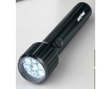 LED Industrial keychain flashlight, plastic