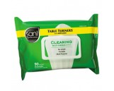 SANI PROFESSIONAL Table Turner Wet Wipes, 90/pk, 12pks/cs  **IN STOCK**